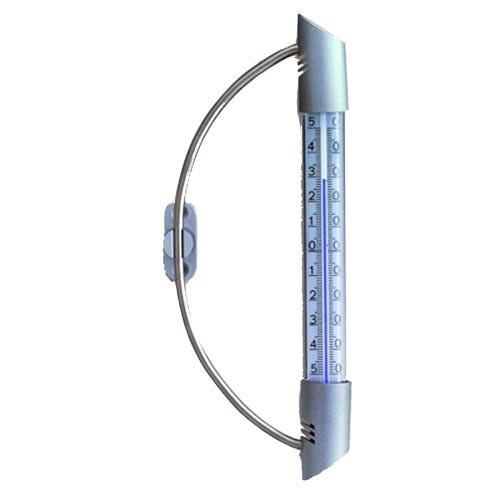 Teploměr okenní 23cm PH kov. 14.6015
