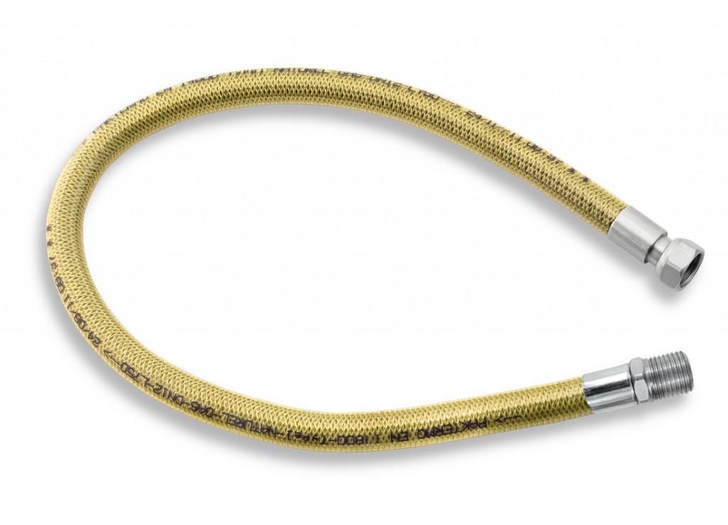 """Plynová připojovací hadice 1/2"""" ŠM-0,1,25m"""
