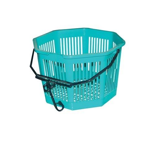 Košík na kolíčky osmihr. pr.20x13cm PH mix barev