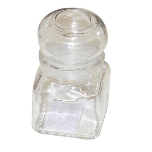 Kořenka 120ml hran.s uzávěrem skl. 120/2