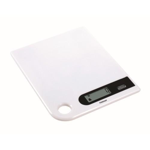 Váha kuchyňská plochá PROFESSOR 5kg digitální BÍ