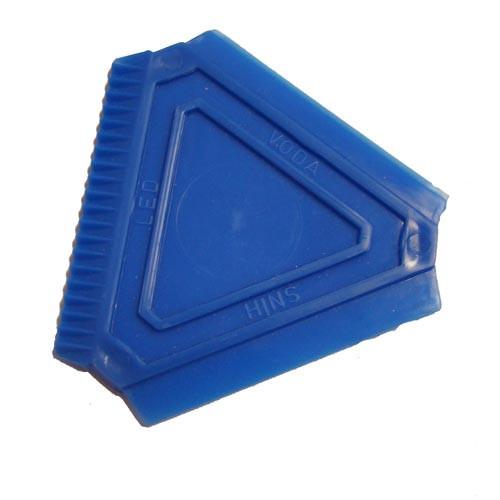 Škrabka na led trojúhelník 8x8x8cm PH mix barev