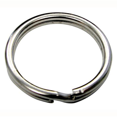 Kroužek na klíč 35mm Ni (100ks)