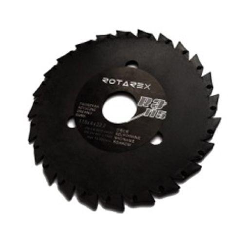 Rašple rotační R3/125mm pilová ROTAREX