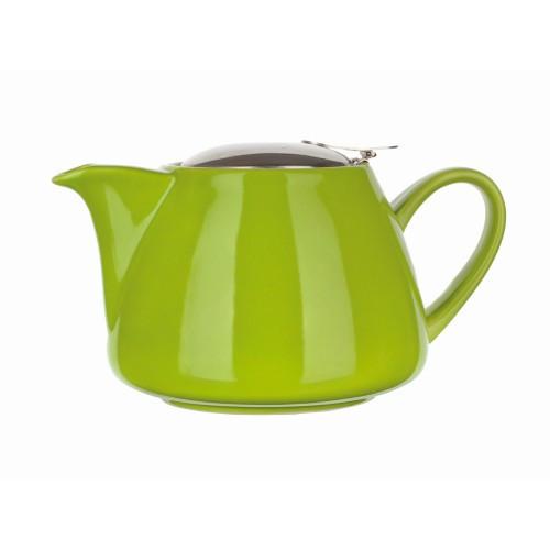 Konvice na čaj 1,2l keramická ZE s nerez sítkem a víčkem