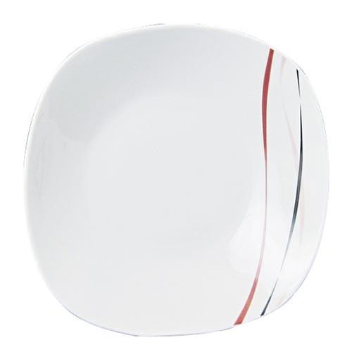 Talíř mělký 25cm AMELIE dekor porcelánový
