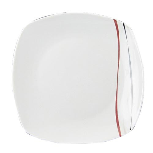 Talíř dezertní 19cm AMELIE dekor porcelánový