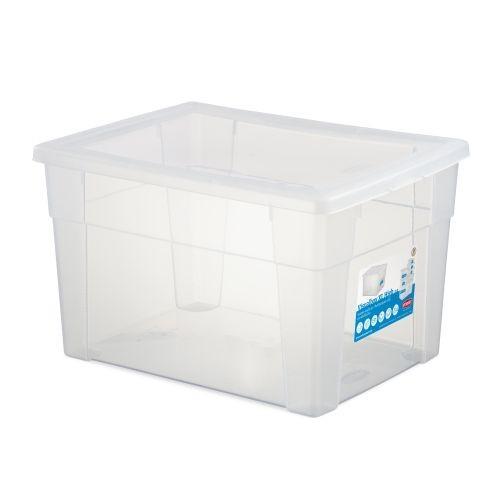 Box úložný SCATOLA 20l, 40x30x24cm s víkem PH TRA