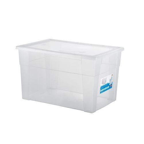 Box úložný SCATOLA 62l, 60x40x35cm s víkem PH TRA