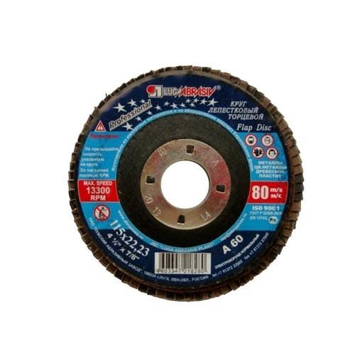 Kotouč lamelový 115x22,23 zr.60 korundový