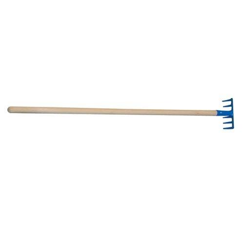 Hrábě DĚTSKÉ 10cm ocel S NÁSADOU 75cm
