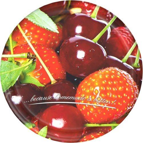 Víčko TWIST 82 dekor ovoce (10ks)