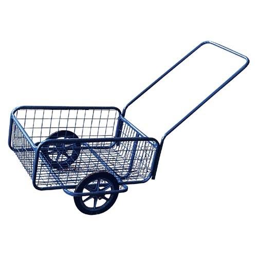 Vozík POPULAR I, gumová obruč, komaxit, 418x618x232(1220)mm