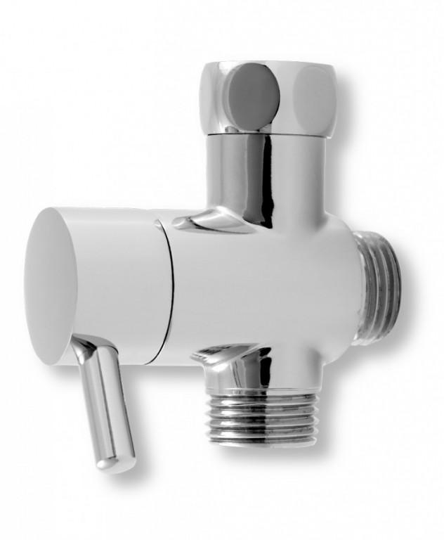 Přepínač sprchového setu 030 chrom