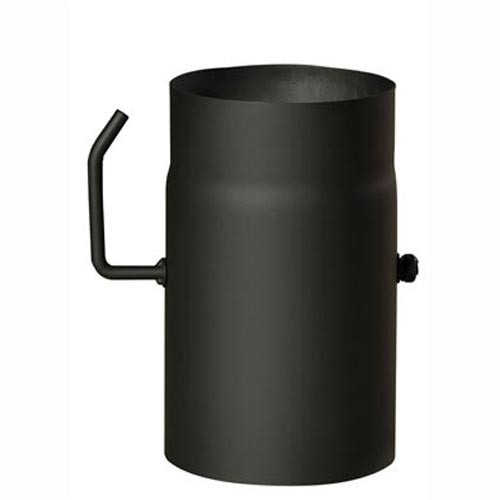 Roura kouřová s klap.120mm/250 t.1,5mm ČER