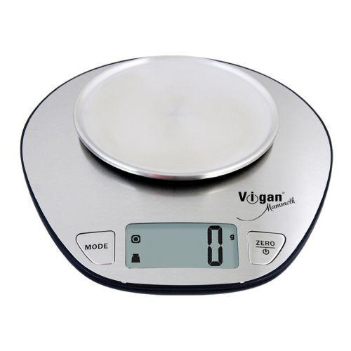 Váha kuchyňská VIGAN 5kg digitální, nerez