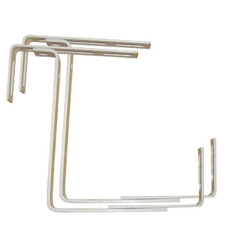 Držák truhlíků balkon.17x10,5-20cm nastavitelný kov. (1 ks)