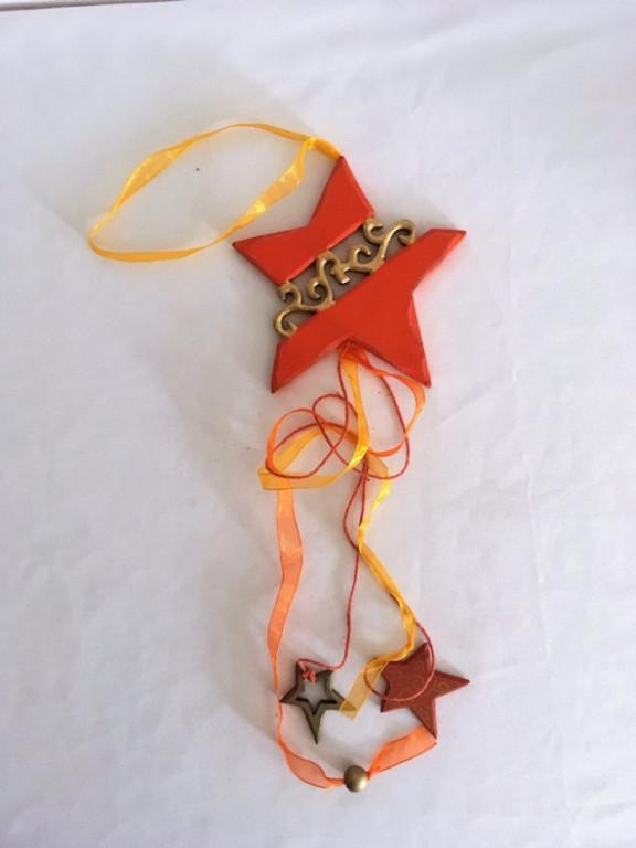Dekorace oranžová