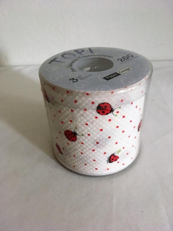 Toaletní papír berušky
