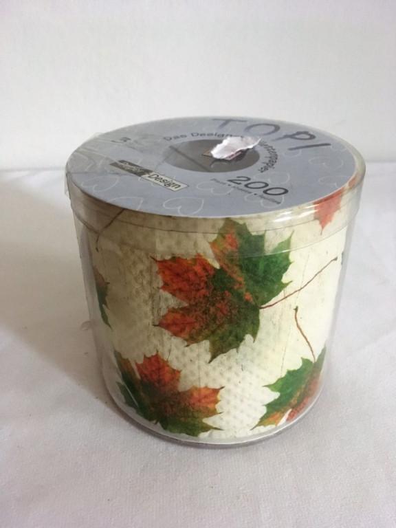 Toaletní papír podzimní listí