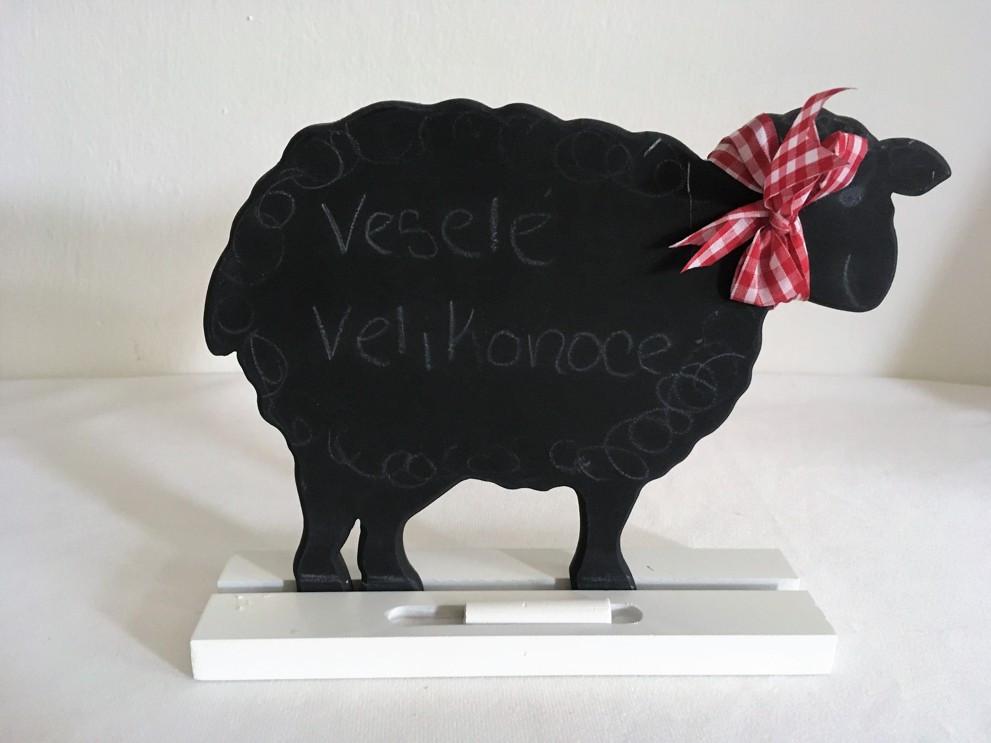 Dekorativní tabulka ovce