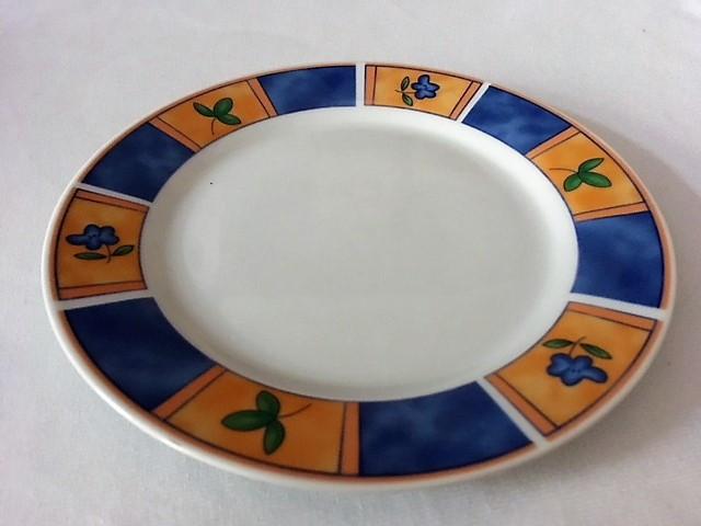 Dezertní talíř se vzorem
