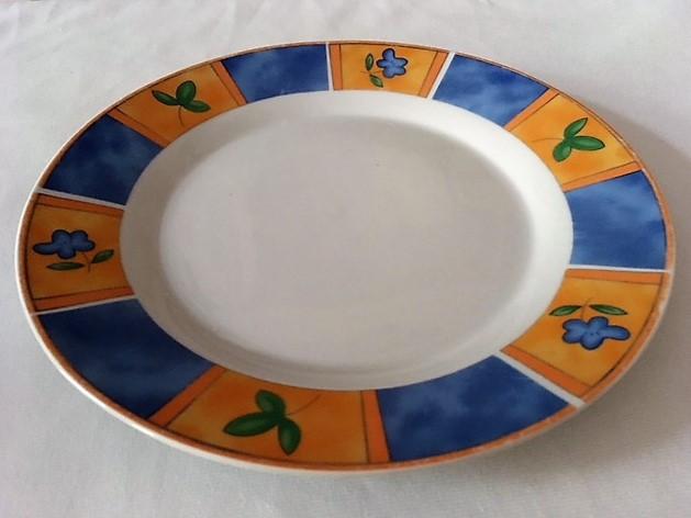 Mělký talíř