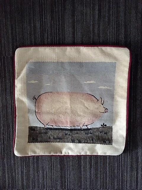 Povlak na polštářek prase