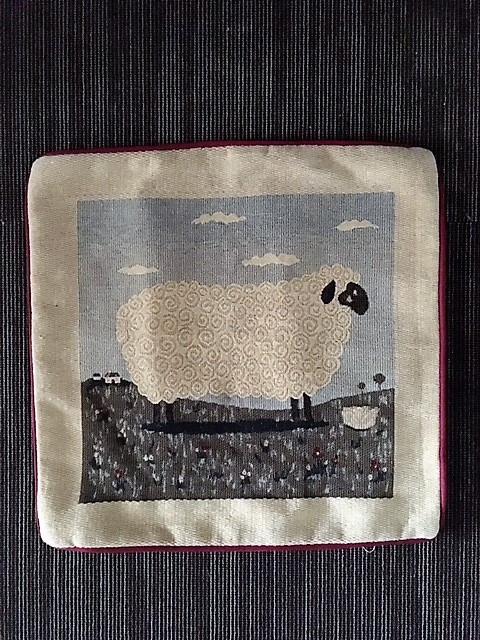 Povlak na polštářek ovce