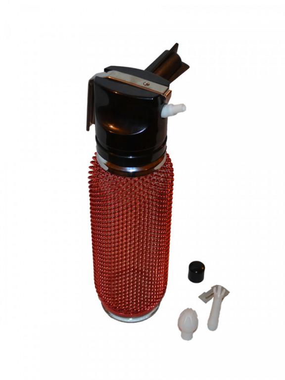 RETRO šlehačková lahev skleněná 0,25l