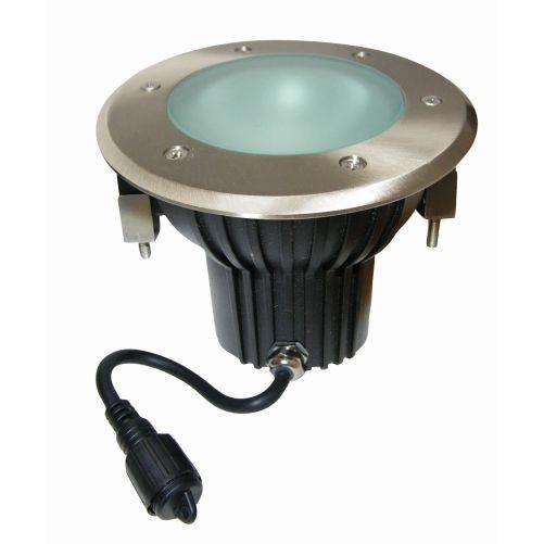 Svítidlo LED pochozí pr.15cm, 1xGU10/8W/560lm/3000K, IP67 do dřeva